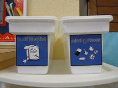 Book Hospital and Missing Parts Buckets