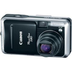 Canon Powershot S80 8MP Digital Camera with 3.6x Wide Angle Optical Zoom by Canon. $599.00. From the Manufacturer                 Canon, a leader in photographic and imaging technology, today releases the 8.0 Megapixel PowerShot S80--the new flagship to its S-Series PowerShot range. The camera's rich feature set includes a wide-angle 28-100 millimeter f2.8-5.3 (3.6x) optical zoom lens incorporating Canon's UA lens technology, the same DIGIC II processor found i...