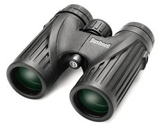 Luger ST 8x40 Binocular Hiking Trekking Hunting Security with Carry Pouch Black