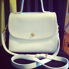 The coveted Coach bag in white