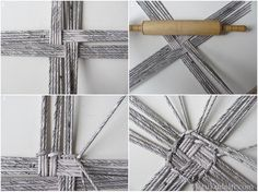 Multistranded large base - probably cane or paper best