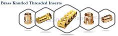 We provide precision quality of #BrassThreadedInsert, #ThreadedKnurledInserts, #BrassLeftRightInserts, #Brassdoubleendedinserts etc.Visit @ http://www.brassinsertsexporter.com/brass-knurled-threaded-inserts/