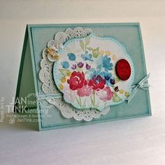 Painted Petals - Stampin Up - I'm Here for You
