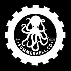 Logo summerhell.co octopus