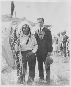 William S. Hart, Chief Plenty Coups, Crow Absorkee Apsaalooka, Pryor, Wyoming