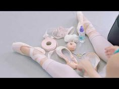 How Royal Ballet dancers prepare their pointe shoes - YouTube
