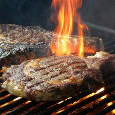 Big M's Whisky Soaked Beef Rib Steaks - Single malt Scotch whiskey is the sole ingredient for the marinade for these rib-eye steaks. Select thick steaks with good marbling for this recipe. Beef Rib Steak, Beef Ribs, Beef Marinade, Marinated Steak, Steaks, Whisky, Ribs On Grill, Smoking Recipes, Steak Recipes