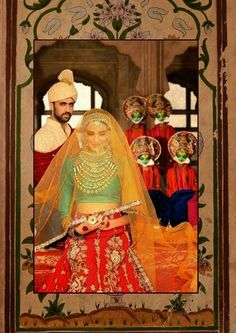 Designer Ali Xeeshan New Bridal Wear Dresses Collection 2014 For Women And Men