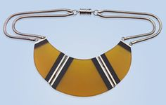Jakob Bengel Attrib. Art Deco Necklace (Ref: 6046)
