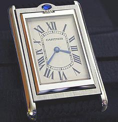 the world's watch information source Lux Watches, Cool Watches, Jewelry Watches, Fine Watches, Men Accesories, Accessories, Tank Watch, Cartier Tank, Just For Men