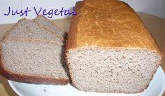 Web sobre recetas con alimentos especiales: sin gluten, con diferentes harinas, para veganos. Pan Sarraceno