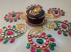 deepavali themed fondant cupcakes - Google Search