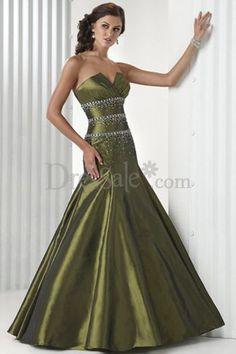 5c2e683de427 beautiful green wedding dress with bling detail Green Wedding Dresses