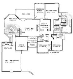 ***2787 sq ft Traditional   House Plan 92902