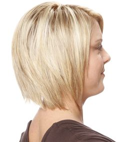 Medium Hairstyle - Straight Casual - Light Blonde   TheHairStyler.com
