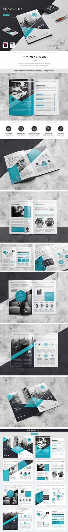 Company Brochure Template InDesign INDD