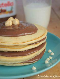 Nutella pancake  CuciniAmo con Chicca