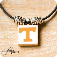 University of Tennessee necklace by LifeTiles Michigan State University, Ohio State University, University Of Kentucky, Kentucky Wildcats, Syracuse University, Iowa State, Indianapolis Colts, Pittsburgh Steelers, Dallas Cowboys