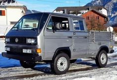 80's VW Type 2 DoKa Syncro. I normally despise VW's but this one is pretty cool.