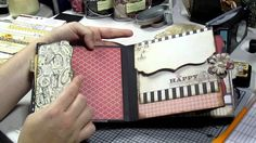 Chip board mini album