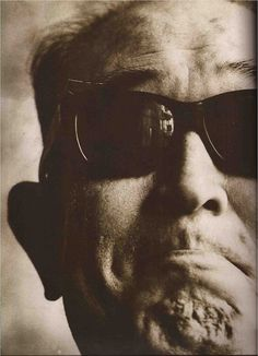 Akira Kurosawa (Japanese director / 1910~1998) in Vogue Paris, Dec. 1988