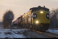 RailPictures.Net Photo: PREX 1750 Keokuk Junction Railway EMD FP9 at Rawalts, Illinois by Steve Smedley