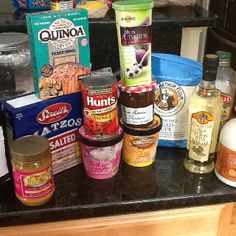 Some grocery finds for starting my low-iodine diet for RAI