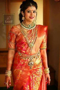Today MyDresses has brought in a beautiful post of south indian wedding dress for women! Shop now for the latest styles of south indian wedding dress for South Indian Wedding Saree, Indian Bridal Wear, Indian Wedding Jewelry, South Indian Bride, Saree Wedding, Tamil Wedding, Bridal Sarees, Indian Groom, Punjabi Wedding