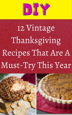 12 Vintage Thanksgiving Recipes That Are A Must-Try This Year Diy Crafts For Home Decor, Diy Arts And Crafts, Vintage Thanksgiving, Thanksgiving Recipes, Diy Wall Art, Diy Wall Decor, Hacks Diy, Food Hacks, Herb Garden Pallet