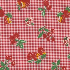 Hey, I found this really awesome Etsy listing at https://www.etsy.com/listing/257161969/fabric-reproduction-1930s-red