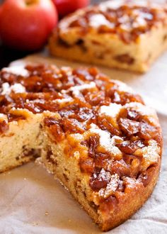 Instant Pot Apple Cinnamon Cake is moist and tender, loaded with fresh apples and rich cinnamon flavor! Serve it warm with a scoop of vanilla ice cream, or let it cool and sprinkle some powdered sugar on top. The apple cake is made using 7 inch round pan or springform pan right inside your Instant Pot.