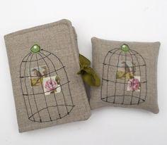 Needle Case & Pin Cushion