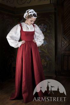 Traditional Central Europe XVI Сentury Dress
