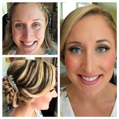 Bride's Wedding Hair & HD Airbrush Makeup Makeover by Ali, Long Island Makeup and Hair