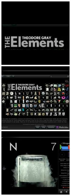 This app lets you see real pictures of all of the elements on the Periodic Table