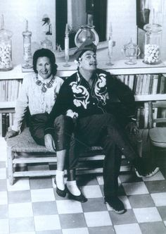 SALVADOR DALI WITH GALA DALI