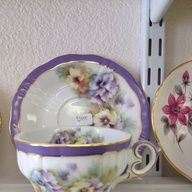 Voilets vintage teaset