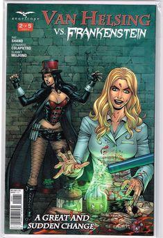 Grimm Fairy Tales Helsing #3 Cover A NM 2014 Zenescope Vault 35