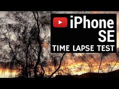 Time lapse iPhone SE