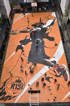 Lebron James court at Manila!