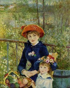 On the Terrasse (Sur la terrasse), Pierre-Auguste Renoir, 1881, oil on canvas.