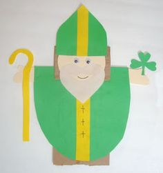 Saint Patrick puppets