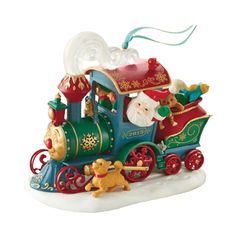 2015 Santa's Christmas Train Hallmark Keepsake Ornament - Hooked on Hallmark Ornaments