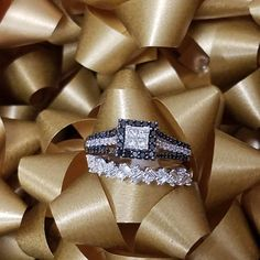 Black accent diamond engagement rings are in! How do you feel about them? St George Utah, Black Accents, Diamond Engagement Rings, White Gold, Jewels, Jewelery, Gemstones, Jewelry, Jewerly