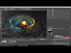 Cinema 4D Displacement tutorial - YouTube