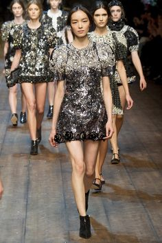 Dolce Gabbana Fall 2014 RTW - Runway Photos - Fashion Week - Runway 8eedb8afe9e