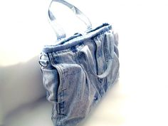 7 Bags Made From Recycled Denim Jeans