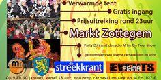 Carnaval begint al ... in Zottegem ! - tbrakelt.be