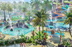 As Universal's Volcano Bay rises above the Universal Orlando Resort, the park posted a video featuring the Universal Creative team members describing the story behind this new water theme park.