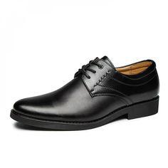 Toe Shoes For Men, Formal Shoes For Men, Man Dressing Style, Leather Men, Leather Shoes, Dress Shoes, Men Dress, Toe Shape, Oxford Shoes